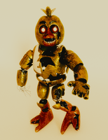 Wandering Chica | Lost and Found | Full Body by TheMercifulGuard