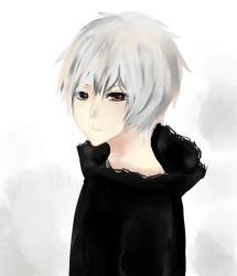 White Kaneki by Lorellet