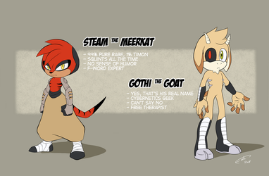 Steam and Gothi by FinikArt