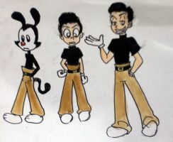 Human yakko sketch by 17cherry