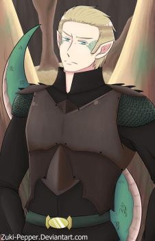 Hetalia-  Dragon Ludwig by Zuki-Pepper