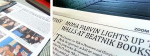 My second Newspaper Article by MonaParvin