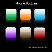 iPhone Buttons by memedbaykal