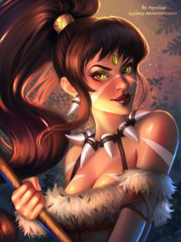 Nidalee (League of Legends) by AyyaSAP