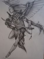 Katana Angel by Elliesmeria