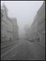 Misty Morning on Grodzka St. by estachos