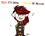 RED / YELLOW by lRUSU