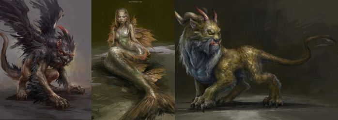 Creature Designs by DongjunLu