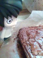 L nendoroid discovering cake by Snappedragon