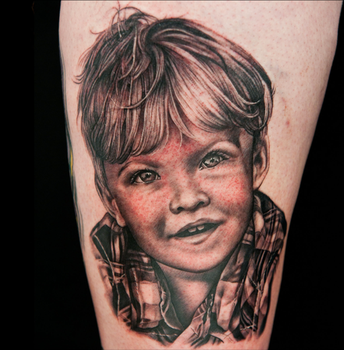 Aiden Portrait from Ink Master by shinigami-sama