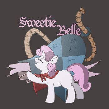 Sweetie Belle Emblem by kevinsano