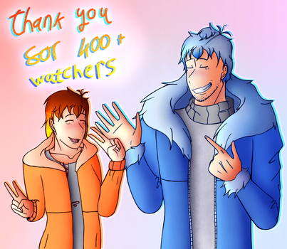 Thank You For 400+ Watchers by Dashigriffins