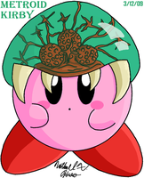 Kirby - Metroid by BlazingGanondorf