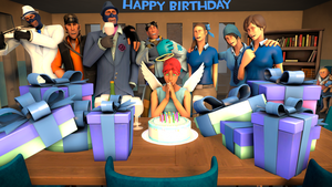 [SFM] Happy Birthday Angel by TheLisa120