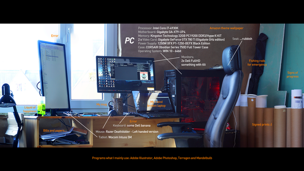 My RIG and programs I mainly use (needs update) by KuldarLeement