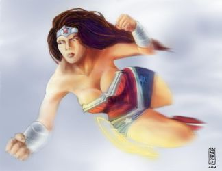 Wonder Woman by mikemorrocco