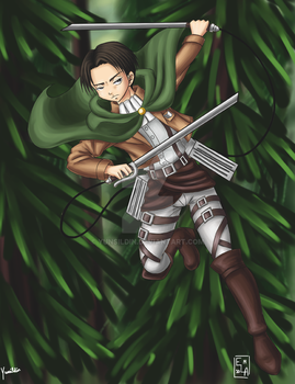 Attack on Titan  Levi by Yunsildin