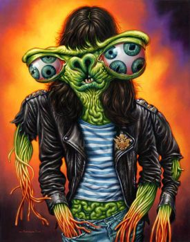 Monsters of Rock: Joey by jasonedmiston