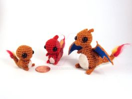 Charmander Family by altearithe