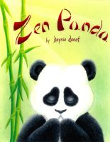 zen panda cover by dragynsart