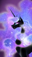 Nightmare moon by mew-vocaloid