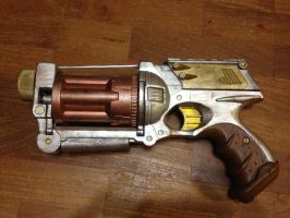 Nerf Steampunk Revolver(The Hunchback Assignments) by Gavinlimkj