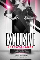 Exlusive Party Flyer Templates by ImperialFlyers