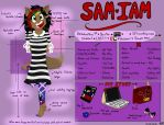 ~Meet the Artist~ {200TH DEVIATION!} by SamIamLuvDov