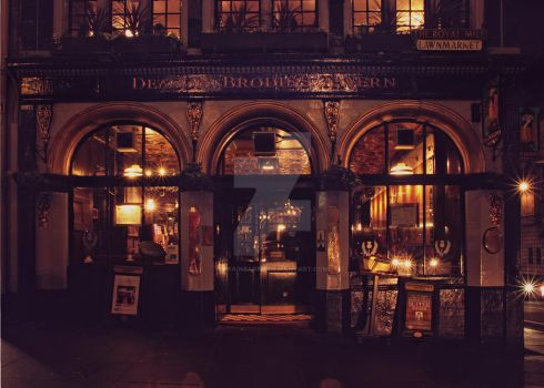 Deacon Brodies Tavern - Edinburgh by Brainbarbie