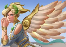 Mercy winged victory by Azrail-GX