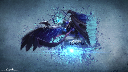 LoL - BlackFrost Anivia HD by xRazerxD