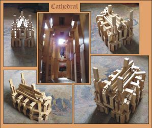 Wooden cathedral by MatejCadil