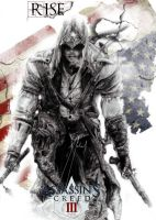 Assassin's Creed 3 Connor Ratohnhaketon-COVER- by GabrielArtist