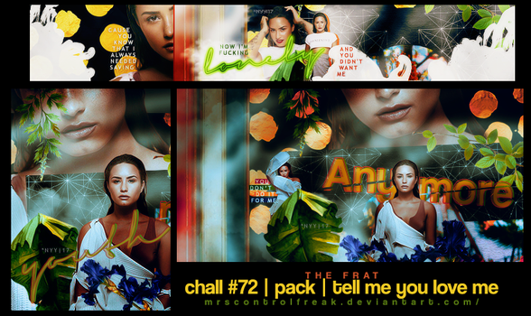 chall #72 | pack | tell me you love me by mrsControlFreak