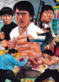 Jackie Chan, Samo Hung, Yuen Biao - Dragon Forever by smjblessing