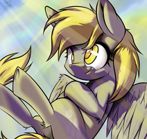 Derped in the sky. by RalekArts