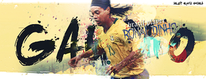 Ronaldinho by Mantequiii