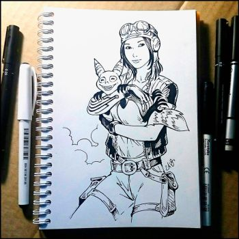 Instaart - - Doctor Aphra and Flufto by Candra