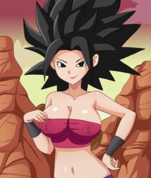 Caulifla by Shablagooo