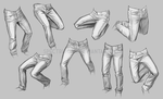 Life study-- jeans by Spectrum-VII