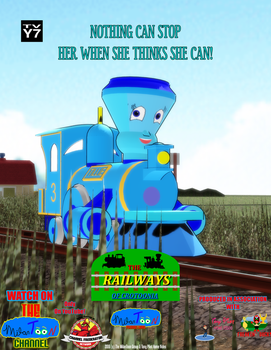 The Railways of Crotoonia| Character Poster #2 by TheMilanTooner