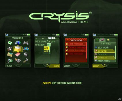 Crysis Theme 240x320 by 5-G