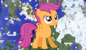 Scootaloo Minecraft by TheUnknown644