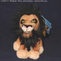 Lion King - 2011 Scar beanie by dapumakat