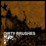 Dirty brushes by nosense-stock