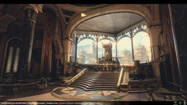 Temple Of Utu - Unreal Engine 4 Environment - 03 by thiagoklafke