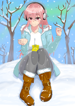 [Commission] Super Sonico by HBeats
