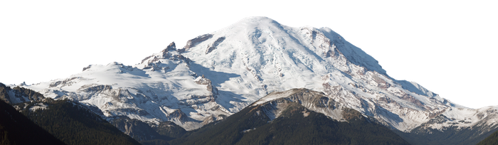 Snowy Mountain PNG by AbsurdWordPreferred