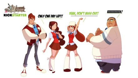Gumshoes 4 Hire Kickstarter 1 day left! by cheeks-74