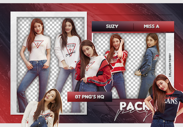 PACK PNG #125| SUZY (MISS A) by iAllNightBaby